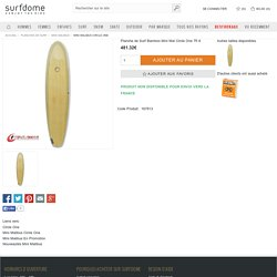 Planche de Surf Bamboo Mini Mal Circle One - 7ft 6