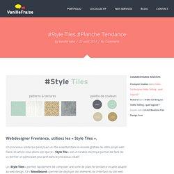 Style Title ou Planche Tendance un outil créatif essentiel !
