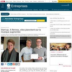 Start-up. A Rennes, elles planchent sur la musique augmentée
