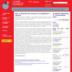 NL4- Le Plancher de Jeannot, du symptôme à l'œuvre.