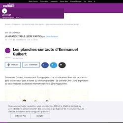 Les planches-contacts d'Emmanuel Guibert