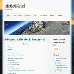 X-Plane 10 HD Mesh Scenery v3
