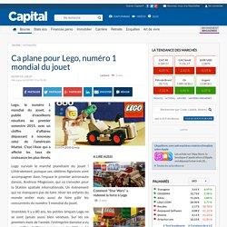 Ca plane pour Lego, numéro 1 mondial du jouet