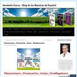 Planeaciones…Prontuarios…Guías…Dosificaciones