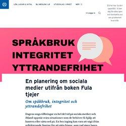 En planering om sociala medier utifrån boken Fula tjejer · Annika Sjödahl