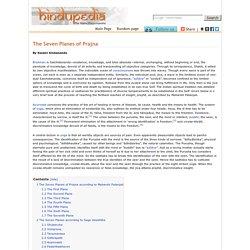 The Seven Planes of Prajna - Hindupedia, the Hindu Encyclopedia