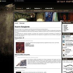 Guerre Sanglante - Le Rat Crevé : Donjons & Dragons - Planescape - Spelljammer - Laelith
