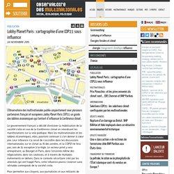 Lobby Planet Paris : cartographie d'une COP21 sous influence