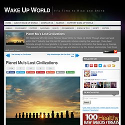Planet Mu's Lost Civilizations