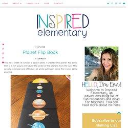 Planet Flip Book - Inspired Elementary