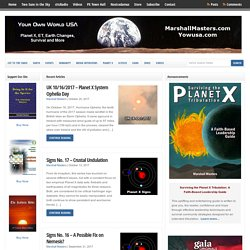 2012 - Planet X - Nibiru - Hundreds of Pages, Videos and Audios For Free