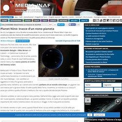 Planet Nine: tracce d'un nono pianeta