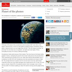 Smartphones: Planet of the phones