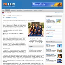 NL Planet - The Dutch Royal Family