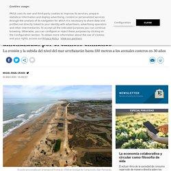 La mitad de las playas de arena del planeta, amenazadas por el cambio climático