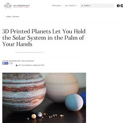 3D Planetary Models that Fit in the Palm of Your Hand