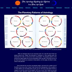 planetary patterns of astrology
