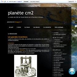planète cm2: LA RENAISSANCE