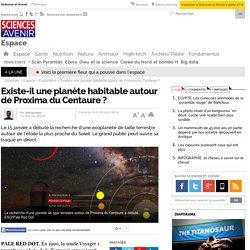 Existe-il une planète habitable autour de Proxima du Centaure ?