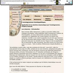 L'ennéagramme homéopathique. Application de la doctrine miasmatique par l'ennéagramme. Frédéric Schmitt.