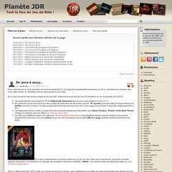 Planète JDR