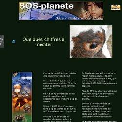 Demain l'Homme, ex SOS-planete : Quelques chiffres à méditer