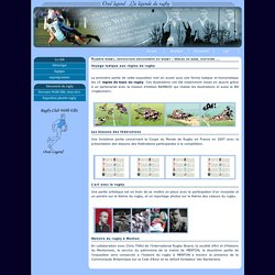 Planète rugby, règles de base du rugby, histoire et art du rugby au Palais de l'Europe à Menton