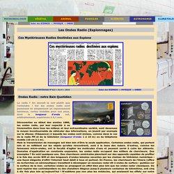 Planète GAÏA -> Sciences -> Physique -> Ondes -> Les Ondes Radio
