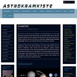 Planeten - Astrokramkiste