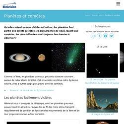 Planètes et comètes - Stelvision