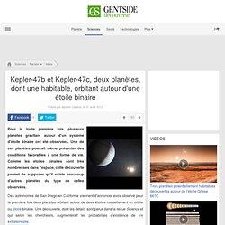 Deux planètes, dont une habitable, orbitant autour d'une étoile binaire - Maxisciences