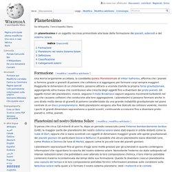 Planetesimo