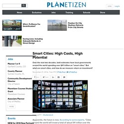 Planetizen: The independent resource for people passionate about planning and related fields