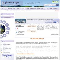 Traitement des eaux usées par les stations d'épuration en France
