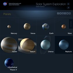 Planets - NASA Solar System Exploration