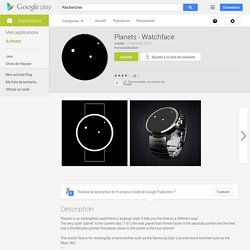 Planets - Watchface