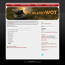 PlanetWoT