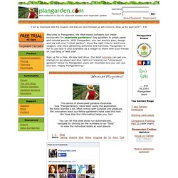 Plangarden Vegetable Garden Plan - Design Software