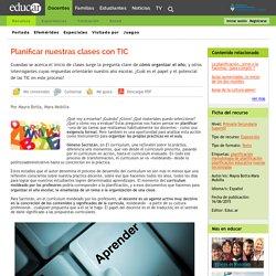 Planificar nuestras clases con TIC