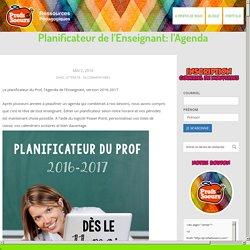 Planificateur de l'Enseignant: l'Agenda
