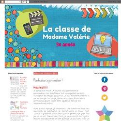 La classe de Madame Valérie: Planificateur à personnaliser !