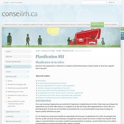 Conseil RH pour le secteur communautaire