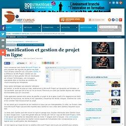 Planification et gestion de projet en ligne