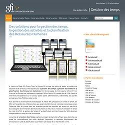 La gestion des temps – la planification des Ressources Humaines - Logiciel de gestion des temps, logiciel de planification - GFI Informatique