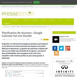 Google lance un outil de planification de réunions dans Google Calendar