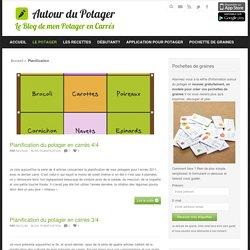 La planification et rotation des cultures du potager en carrés