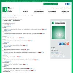 11 - Les nouveaux outils de planification sanitaire