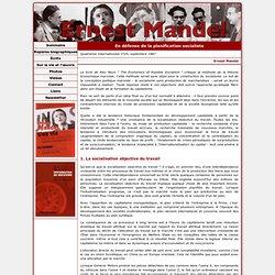 Ernest Mandel - En défense de la planification socialiste