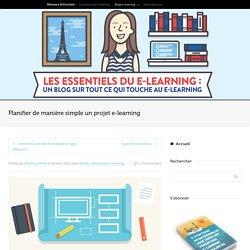 Planifier de manière simple un projet e-learning