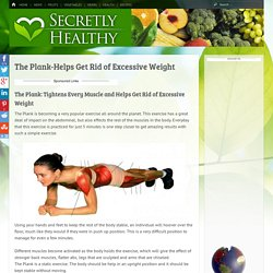 The Plank-Helps Get Rid of Excessive Weight -